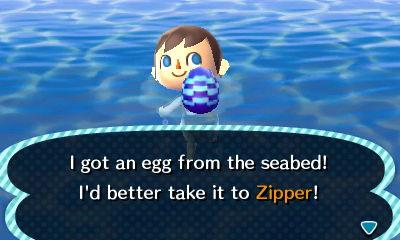 Vajíčko v řece