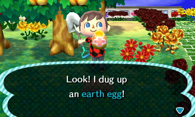 Vajíčko v zemi