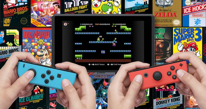 Knihovna NES her v Nintendo Switch Online