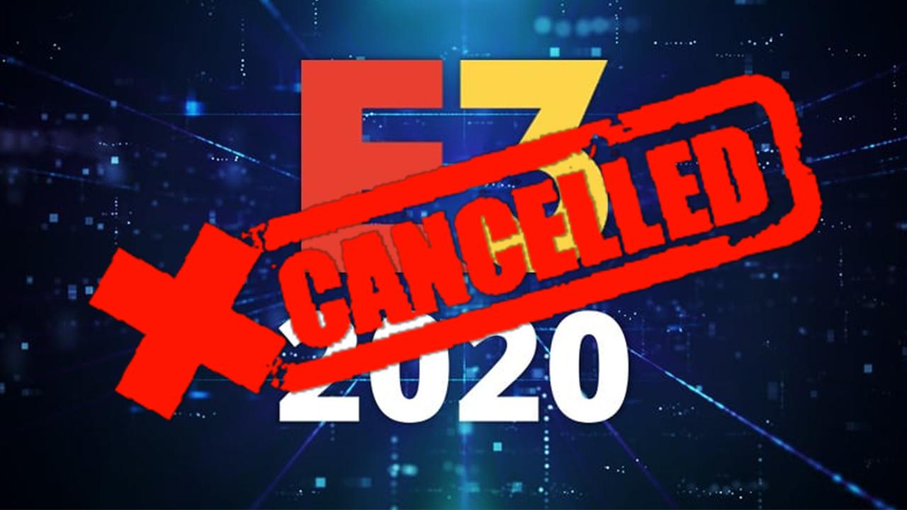 E3 2020 zrušené